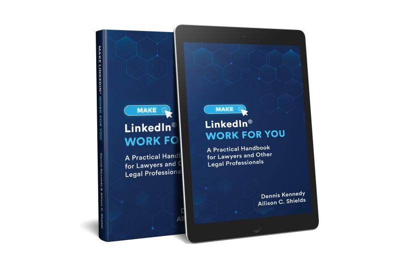 Image of Make LInkedIn Work for You book and tablet